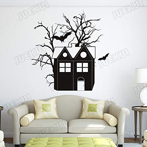 Wandaufkleber Halloween Home Murals Decor Wandtattoos Vinyl Scary Kids Art Dekoration Poster 56 * 56 cm ()