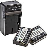 Minadax® Qualité Batterie Li-Ion pour Canon remplace la batterie LP-E10compatible avec Canon EOS 1300D, 1200D, 1100D,