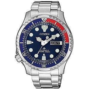 Citizen Promaster Automático Diver 200m. Acero para Hombre NY0086-83L 10