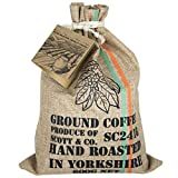 New Ground Coffee Set - Your Coffee Set Contains 10 Different Around The World Coffees Which are Hand Roasted in The UK. They are Hand Stamped, Complete with Info Booklet for an Ideal Gift, Present.
