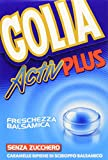 Golia Active Plus Caramella Dura, Gusto Mentolo Eucaliptolo - 2 Astucci