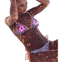 Bañador Mujer Subfamily,Bikini con Estampado Floral Traje de baño Trajes de Baño Push Up Dos Piezas Sexy Bikini Mujer