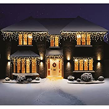 Bravich indoor outdoor 2000 warm white led icicle lights amazon bravich indoor outdoor 2000 warm white led icicle lights aloadofball Image collections