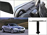 K & R Filet Anti-Remous Coupe de vent Mercedes Benz SLK R171 2004-2011 Déflecteur de Vent