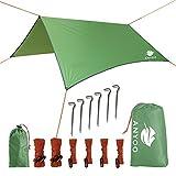 Best Tent For Rains - Anyoo Tarp Shelter Waterproof Lightweight Hammock Rain Fly Review