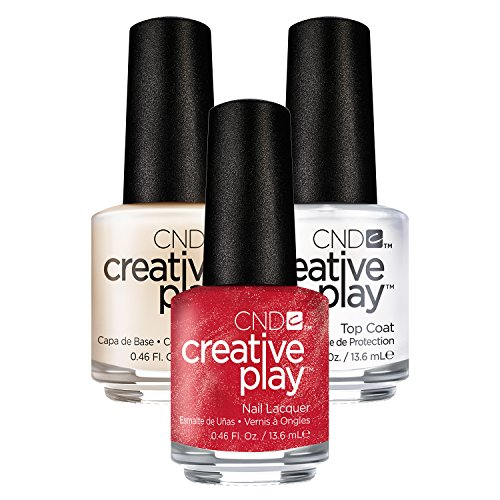 cnd-creative-play-persimmon-ality-n-419-135-ml-con-creative-play-base-coat-135-ml-y-top-coat-135-ml-