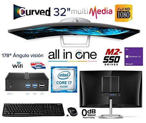 Usado, Ordenador Todo EN UNO Intel Core i7 Mini PC + Monitor segunda mano  Se entrega en toda España