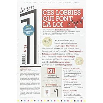 Le 1 - n°53 - Ces lobbies qui font la loi