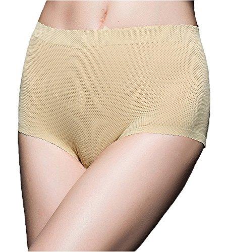 DODOING Damen Butt Lifter Gepolsterte Hüfte Enhancer Unterhosen Shapewear Control Panties Unterwäsche (Shorts Nahtlose Shaping-boy)