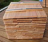 Lärchenholzschindeln 30cm, Bundinhalt 9 Breitenmeter