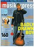 Musikexpress 2002 Heft 11 Ryan Adams Sigur Ros Avril Lavigne Herbert Grönemyer Badly Drawn Boy Foo Fighters Fehlfarben