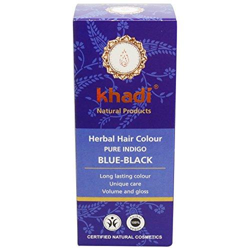 Khadi tinta vegetale in polvere - indigo puro