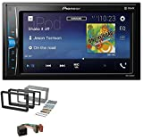 caraudio24 Pioneer MVH-A200VBT 2DIN MP3 Aux USB Bluetooth Autoradio für Alfa Romeo 159 Spider Brera ab 05 Navi