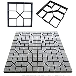 """GEZICHTA Walk Maker Backform, 15,75""""Pflaster Stein Form Pflastersteine beton Form Sprungbrett Form Garten Rasen Pathmate Stein Form"""
