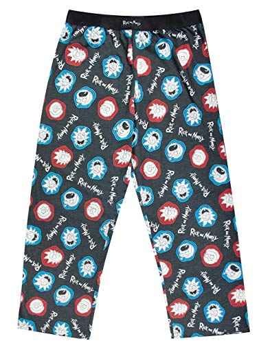 Official Brand Rick and Morty Portal Men's PJ Bottoms Lounge Pants -