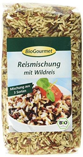 BioGourmet Reismischung mit Wildreis, 3er Pack (3 x 500 g Beutel) - Bio (Bio-wildreis)