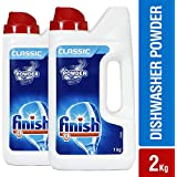 Finish Dishwasher Detergent - 1 kg (Pack of 2)