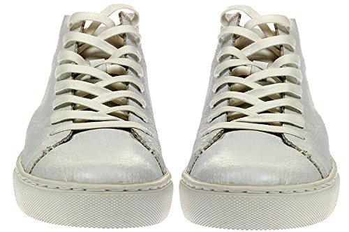 Crime London RAW HI - Damen Schuhe Sneaker Schnürer - 25295S17 Blanc