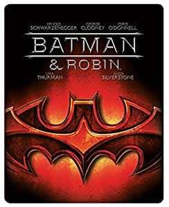 Batman And Robin - Limited Edition Steelbook [Blu-ray] [2013] [Region Free]