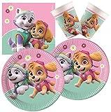 PROCOS 10133066 - Juego de Accesorios para Fiesta de cumpleaños Infantil, diseño de la Patrulla Canina