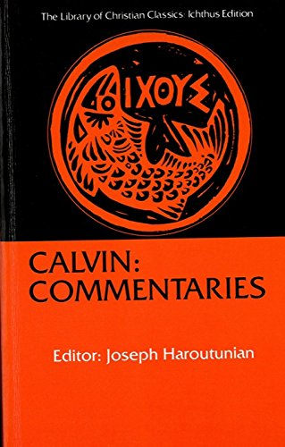 Calvin: Commentaries.