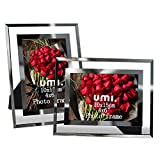 Amazon Brand: Umi. Essentials - Cadre photo en verre 10x15 cm