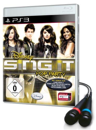 Disney Sing it: Pop Party - Bundle inkl. 2 Mikrofone (Disney-karaoke-playstation 3)