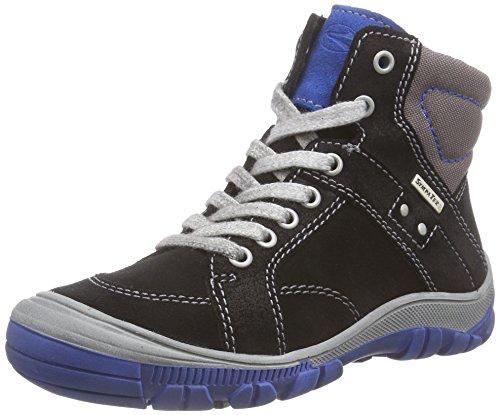 Richter Kinderschuhe Linz, Jungen Hohe Sneakers Schwarz (black/lagoon  9901)