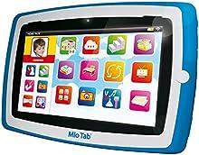 Lisciani Mio Tab Smart Evolution Special Edition - Minitableta, 8GB, Android, color azul/ rojo [modelo surtido], 1 unidad