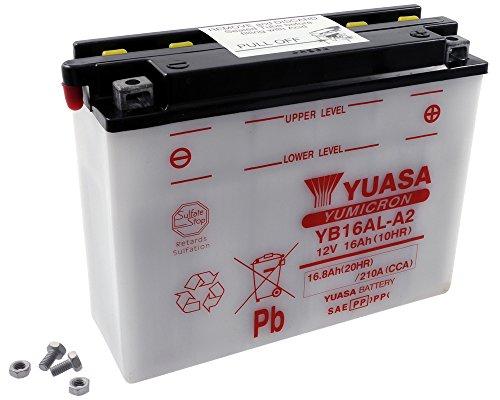 Batteria YUASA - YB16AL-A2 per DUCATI Monster 600 ccm anno 94-00
