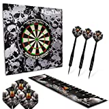 Kings Dart Dart-Set Skull 'n' Whisky