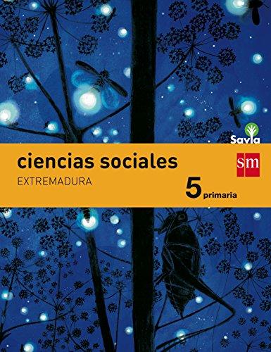 Ciencias sociales 5 Primaria Savia Extremadura
