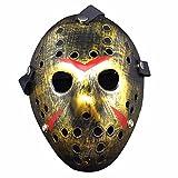 Homelix Horror Disfraz Hockey Jason Máscara Halloween Party Cosplay Accesorios