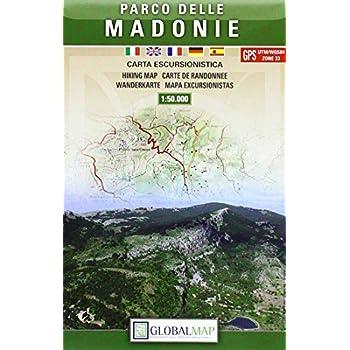Parco Delle Madonie. Carta Escursionistica 1:1.50.000