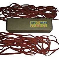 kitchen trash can rubber bands: Big Red trash bag holder 20 count 12 size for 22 gallon kitchen trash can by Big Red Band