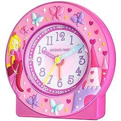 Jacques Farel ACN 7777 Clock with Princess Design [German Language]