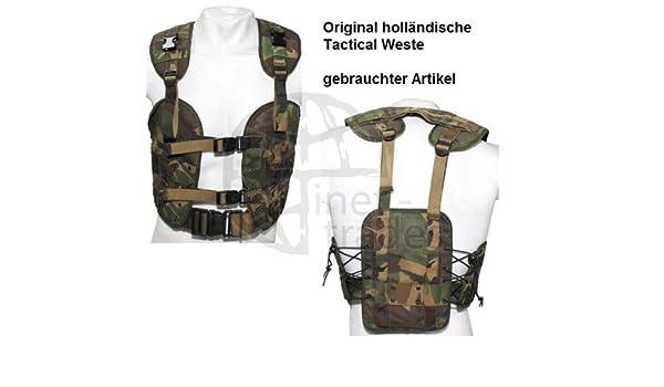 ORIG. HOLLÄNDISCHE WESTE Tactical load bearing taktisch dpm NL tarn ...
