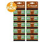 20 Act AG10 / LR54 / 189 / 389 / LR1130 Knopfzelle Alkaline Alkali Batterie, 2x 10-er Pack, Lange Haltbarkeit (Haltbarkeitsdatum markiert)