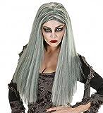 Widmann Perruque Zombie Femme Gris