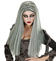 Idea Regalo - WIDMANN 06740 - Parrucca da Strega/Zombie Donna in Taglia Unica