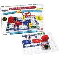 Snap Circuits Jr. SC-100 - Juego para experimentación electrónica (contenido en inglés)