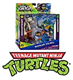 Flair 61000 Teenage Mutant Tartarughe Ninja Toy Duello Rocksteady Leonardo 12cm Personaggio In Azione