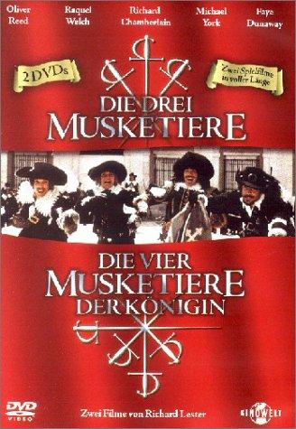 Bild von Musketiere Box (Die drei Musketiere, Die vier Musketiere) [2 DVDs]