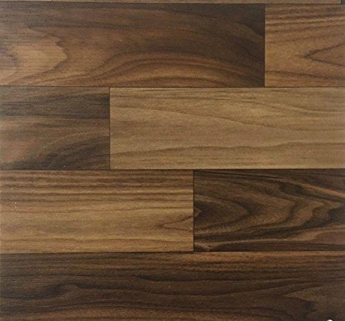 PVC Vinyl-Bodenbelag   Muster   in Nordic-Walnut-Optik   CV PVC-Belag in verschiedenen Maßen verfügbar   CV-Boden wird in benötigter Größe als Meterware geliefert