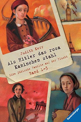 Als Hitler das rosa Kaninchen stahl, Band 1-3: Eine jüdische Familie auf der Flucht (Ravensburger Taschenbücher) (German Edition) por Judith Kerr