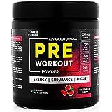 [Sponsored]HealthVit Fitness Pre-Workout Explosive Energy Powder - 300 G (Watermelon Tequila Flavour)