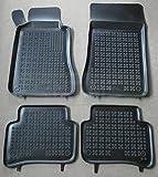 ZentimeX Z912452 Schalenmatten fahrzeugspezifisch mit Anti-Rutsch-Noppen (Durchmesser circa 18mm) schwarz