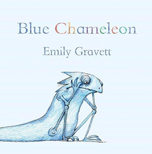 Blue Chameleon por Emily Gravett