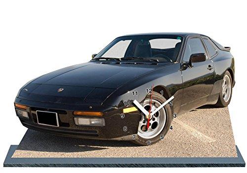 Preisvergleich Produktbild AUTO, PORSCHE 944, MINIATUR MODELL MOTORRAD in der Uhr 04