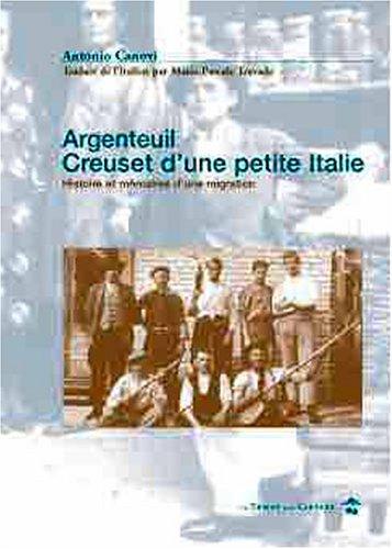 Argenteuil, creuset d'une petite Italie par Collectif